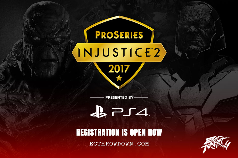 Injustice 2 Pro Series at ECT 2017