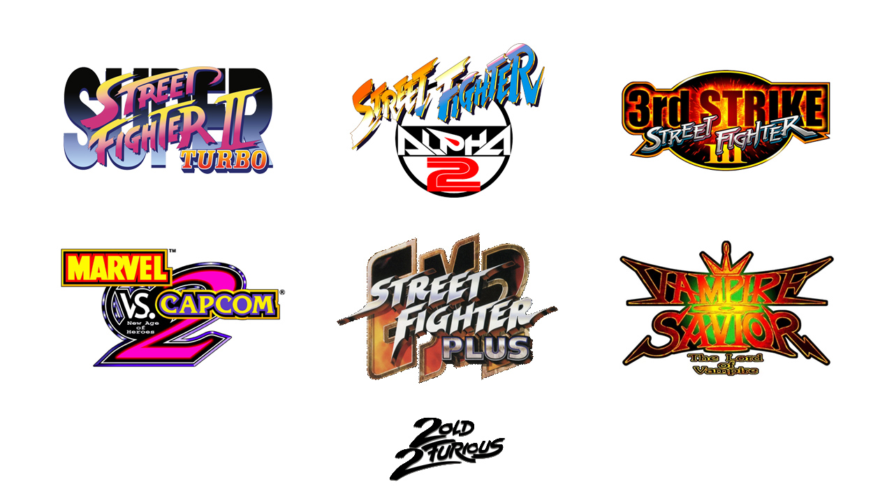 Classic Capcom Fighting Games