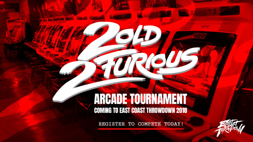 2OLD 2FURIOUS Arcade Tournament in New Jersey